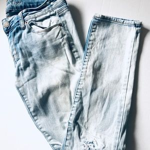 American Eagle Outfitters Jeans - AE• Light Distressed Skinny Jean